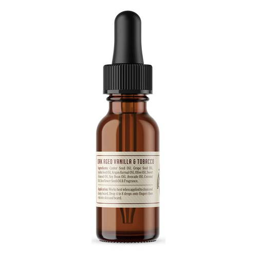 ROCKRIVER BEARD OIL - OAK AGED VANILLA & TOBACCO