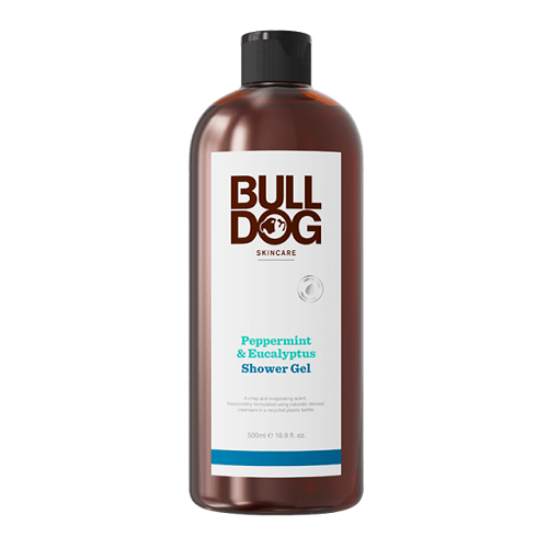BULLDOG PEPPERMINT & EUCALYPTUS SHOWER GEL