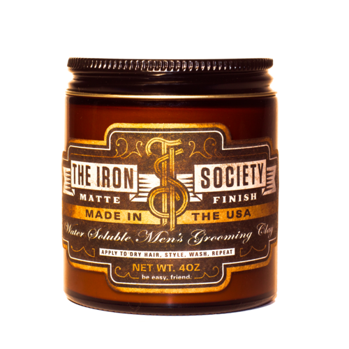 THE IRON SOCIETY MATTE CLAY