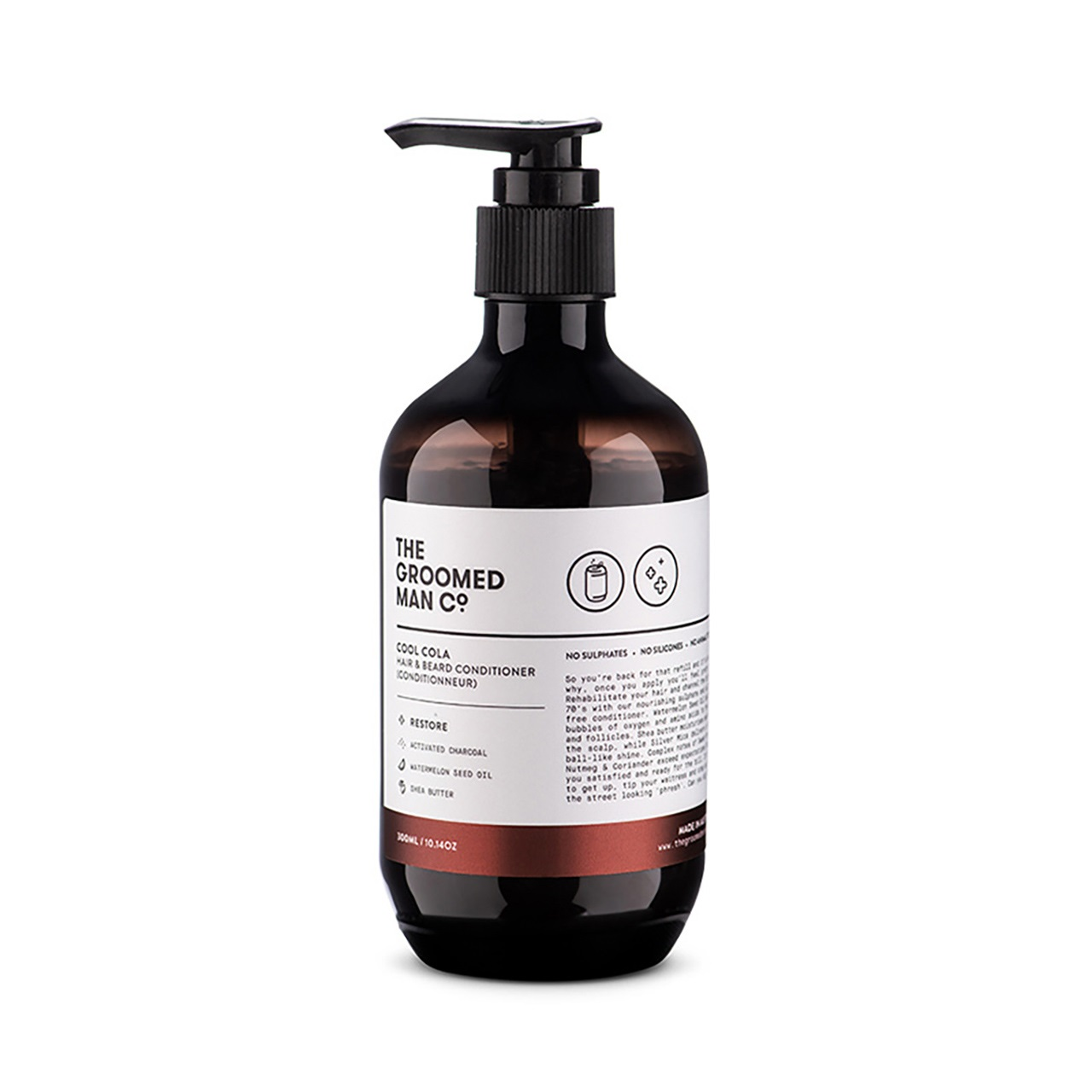 The Groomed Man Co. Cool Cola Hair & Beard Conditioner
